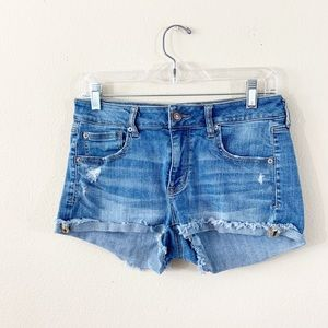 AEO American Eagle Outfitters Shortie Jean Shorts